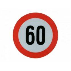 Sticker mare limitator viteza 60km