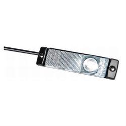 Lampa gabarit alba LED cu fir