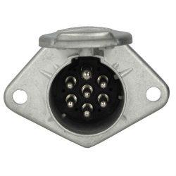 Priza 7 pini tip tata (7x20A 24V) aluminiu