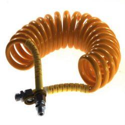 Furtun aer galben 2xfilet exterior M16X1.5mm lungime 4.5m spirala mica